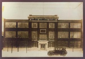 Forbes Chocolate in the early 1900s